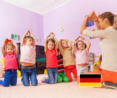 Dzieci uczące się języka niemieckiego - szkoła językowa Rybnik